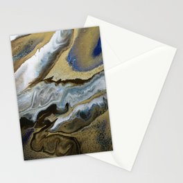 Abstract Shift Stationery Cards