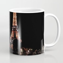 Rose Gold Eiffel Tower Coffee Mug