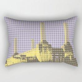 Battersea Power Station - Violet Rectangular Pillow