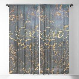 KINTSUGI  ::  Embrace Damage Sheer Curtain