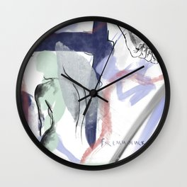 For Each Other Wall Clock