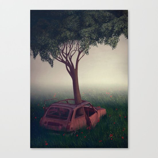 I Lied Canvas Print