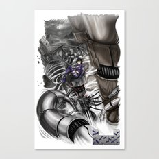 BounD Issue #2 Cover (small logo) Canvas Print