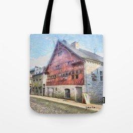 Durbuy - La Halle aux Blés Tote Bag