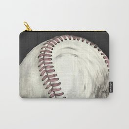 Vintage Baseball Art Carry-All Pouch