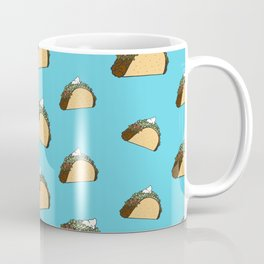 Taco Pattern Coffee Mug