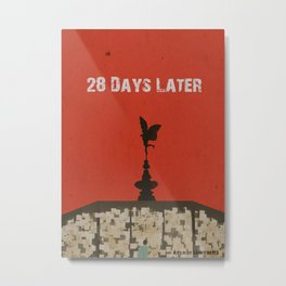 28 Days Later Metal Print