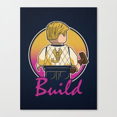 A Real Mini Hero Canvas Print