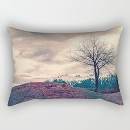 Japanese Mountains Rectangular Pillow