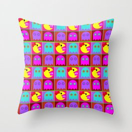 She'll Eat You Alive Throw Pillow