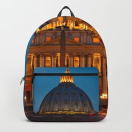 Papal Basilica of St. Peter in the Vatican Backpack