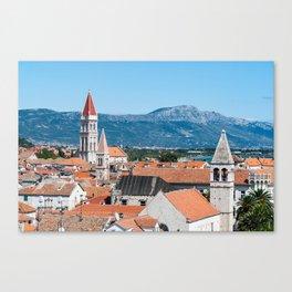 Trogir historical city - Croatia Canvas Print