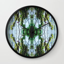 Vine Wall Wall Clock