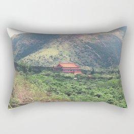 Passage To Tian Tan Rectangular Pillow