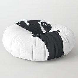 Cactus Silhouette Floor Pillow