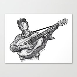 Bob (guitar) Canvas Print