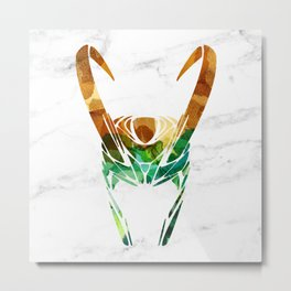 God of Mischief Metal Print