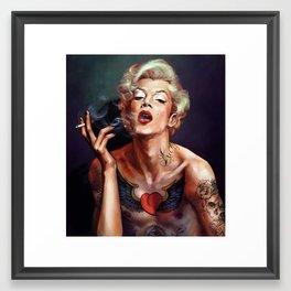 Merylin. The new icon ;-) Framed Art Print