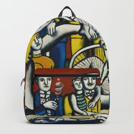 Man in the New Age by Fernand Leger Backpack