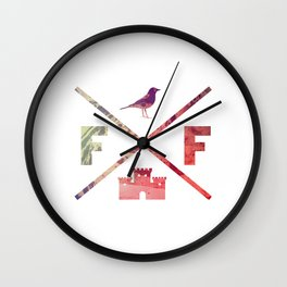 Flying Fortress (Experimental) Wall Clock
