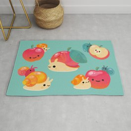 Apple snail Rug