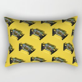 Retro video games from the 90s Rectangular Pillow