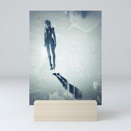 Float: Surreal digital art Mini Art Print