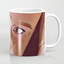 Pink Doll Face Coffee Mug