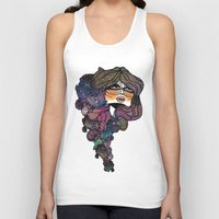 pisces Tank Tops featuring Pisces by annabours
