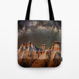 Cappadocia galaxy Tote Bag