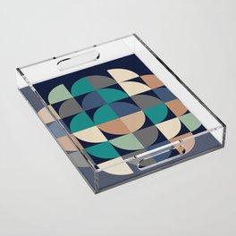 Gestalt Geometric Acrylic Tray