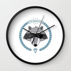 Mr. Raccoon Wall Clock