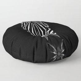 Zebra Sym Floor Pillow