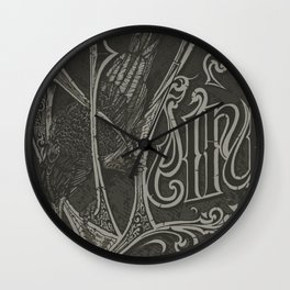 This Is Weird (Antique variant) Wall Clock
