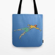 Poor Floater Tote Bag