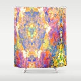 I wait for spring in soil. Shower Curtain