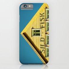 Sunny Yellow House iPhone 6 Slim Case