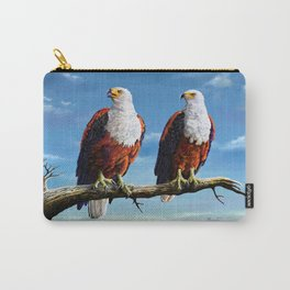 Friends Hanging out Carry-All Pouch