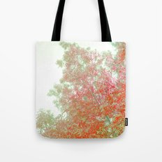 Orange Frosted Tote Bag