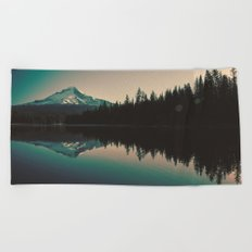 Morning Mountain Adventure Beach Towel