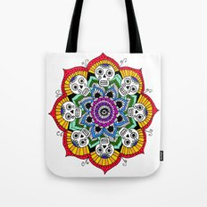 mandalavera de colores Tote Bag
