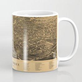Aerial View of Watertown, Wisconsin (1885) Coffee Mug