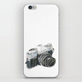 35mm film camera iPhone Skin