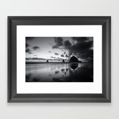 Racing Sky Framed Art Print