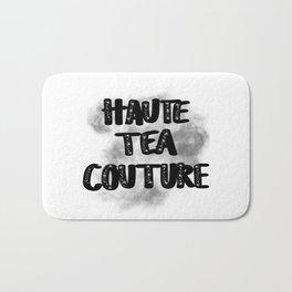 Haute Tea Couture Embellished with Smoke Bath Mat