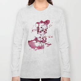 Spotted kitty fawn Long Sleeve T-shirt