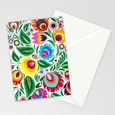 folk grassland Stationery Cards