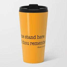 Romeo Shakespeare Travel Mug