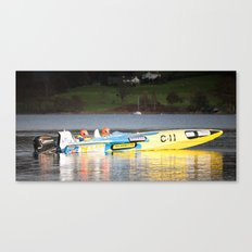 The need for speed Canvas Print
