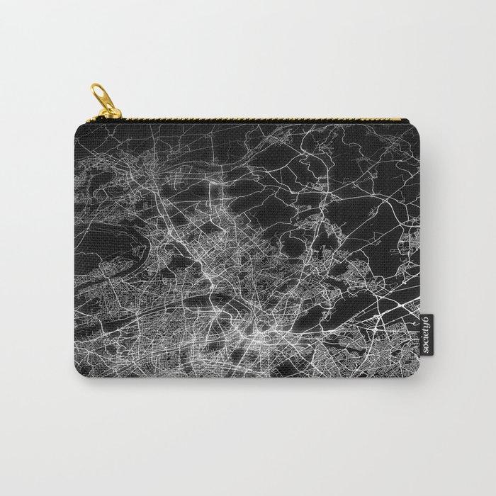 Paris map Carry-All Pouch